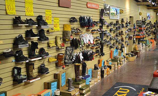 footwear-wall