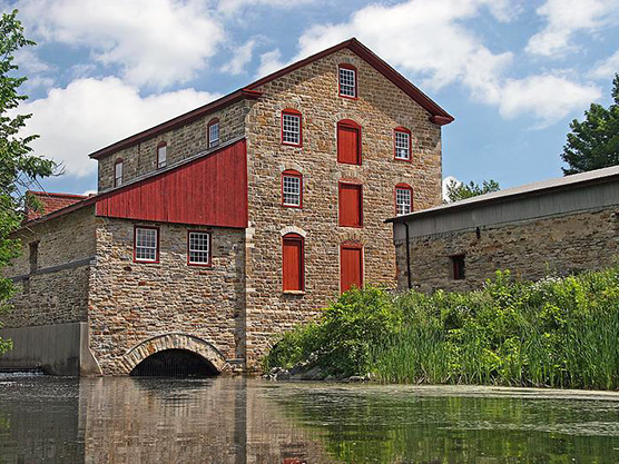 Old Stone Mill National Historic Site Featured Image