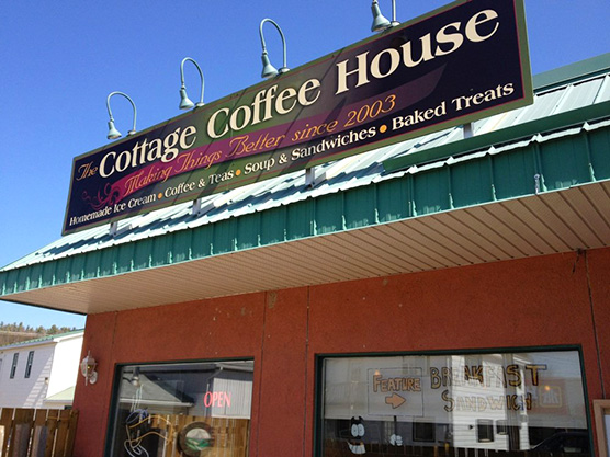 Cottage Coffee House Featured Image