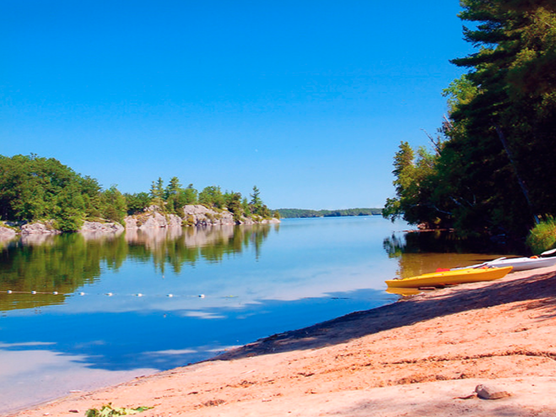 Charleston Lake Provincial Park Featured Image