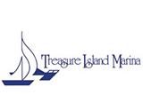 treasure island marina logo