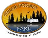 Cedar Forest Park logo