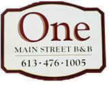 one main street logo