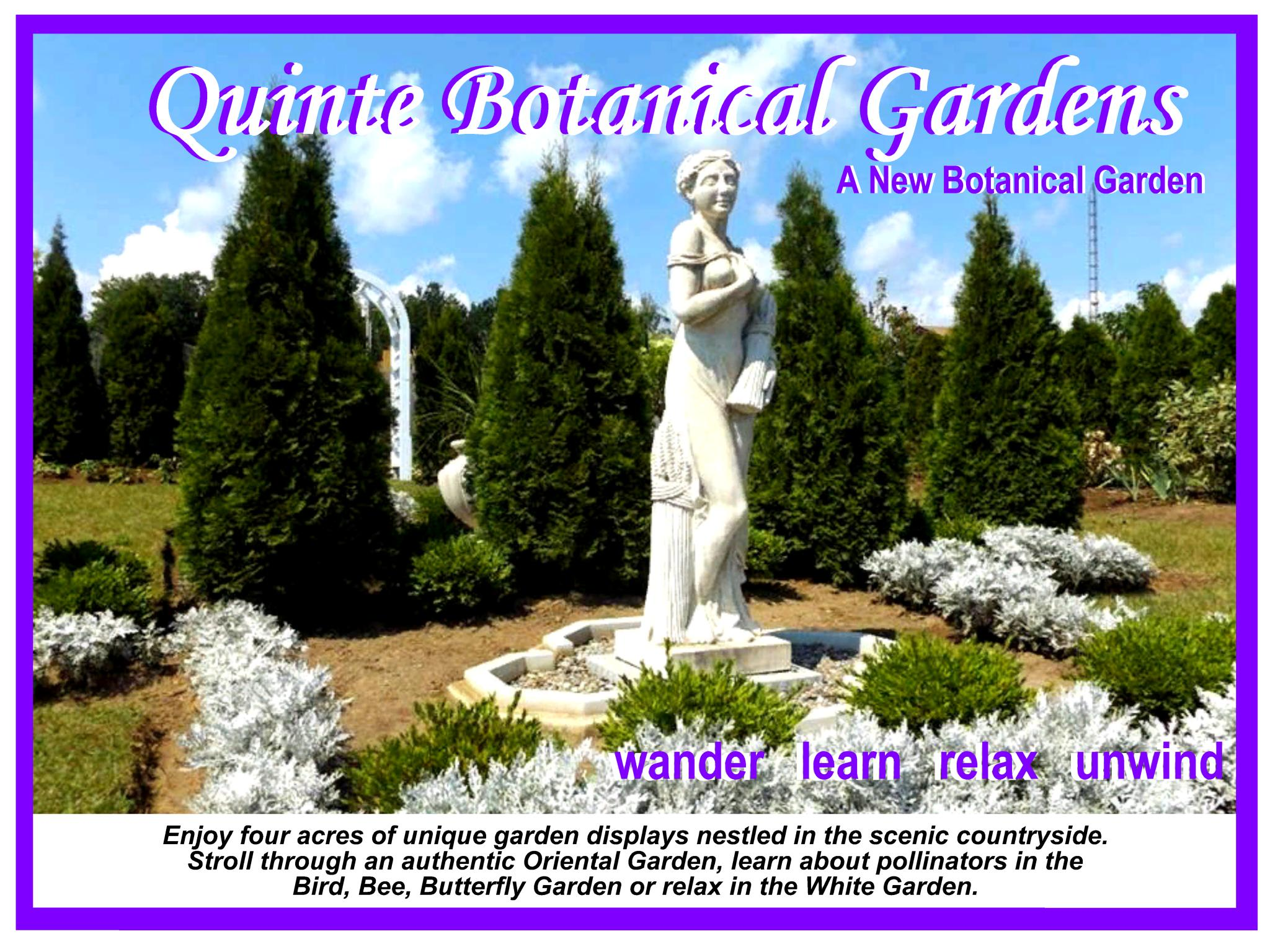 Quinte Botanical Gardens Featured Image