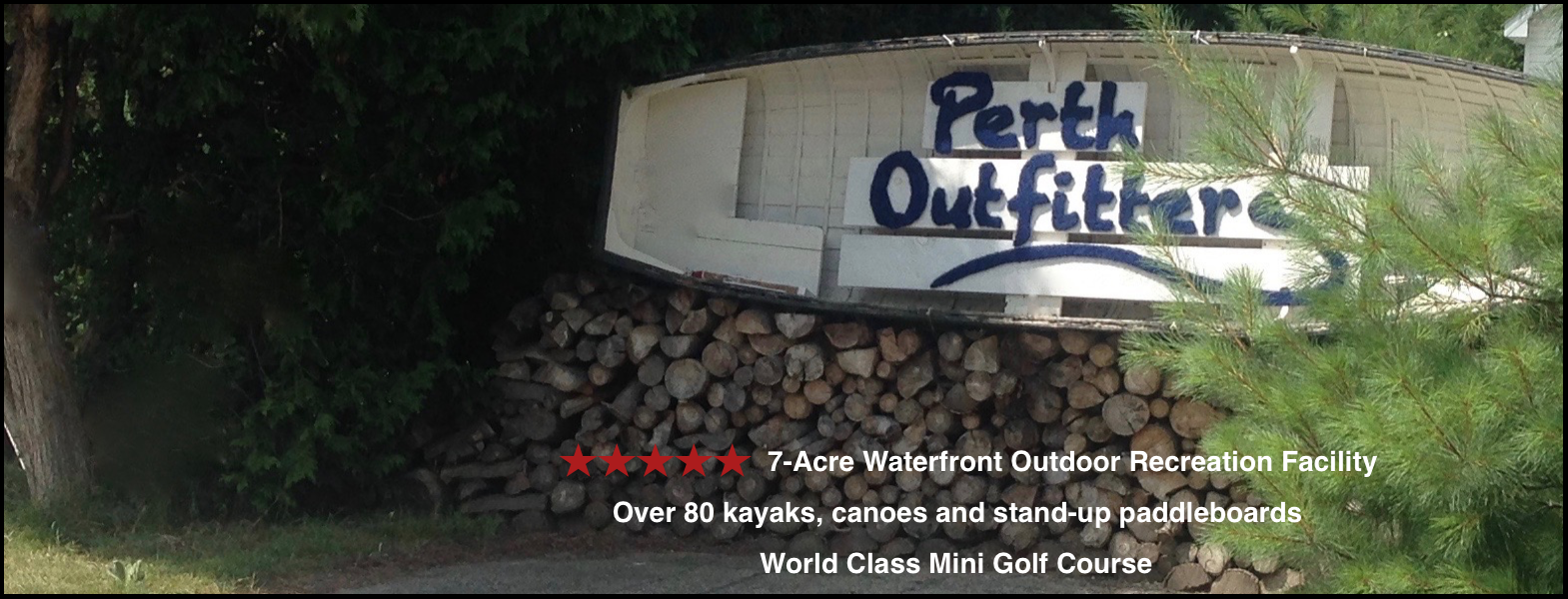 Perth Outfitters Mini Golf and Boat Rentals Featured Image