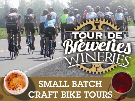 Bike Centric – Tour de Breweries and Wineries Featured Image